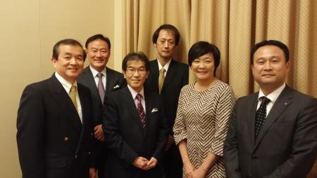 安倍総理夫人・昭恵様、琉球大学 益崎裕章医学部教授による勉強会
